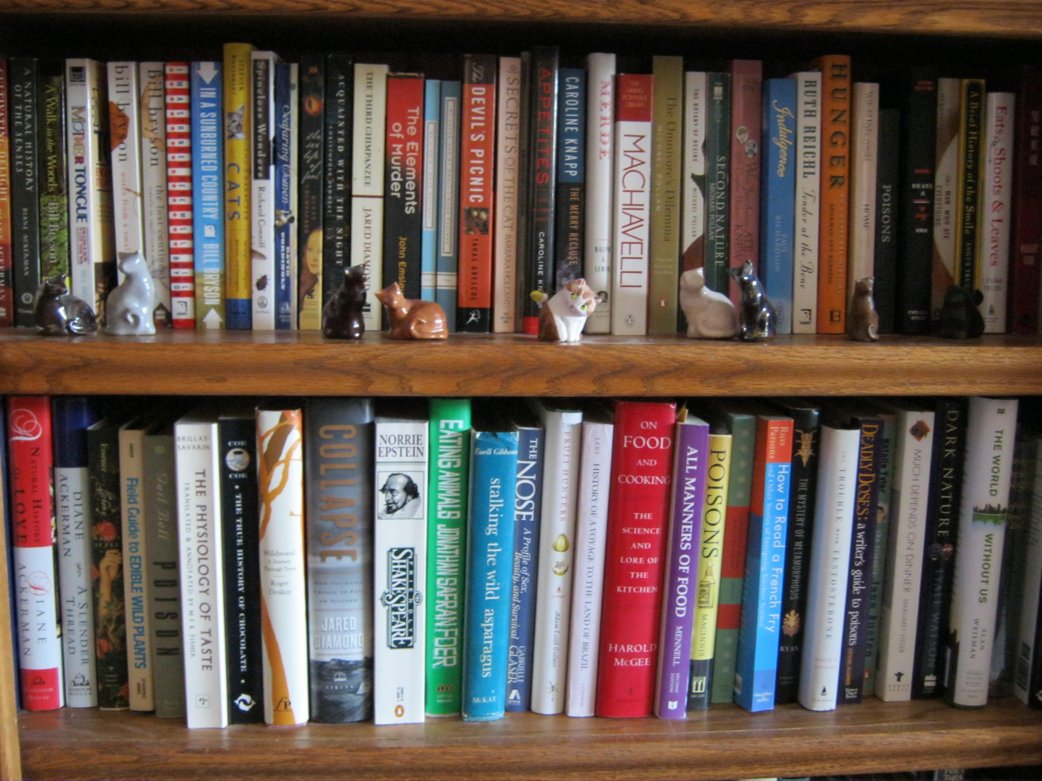 What S On An Environmentalist S Bookshelf It 39 S Not Easy